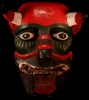 Old Red and Green Face Devil