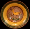 Jumping Deer Ceremonial Plate