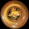 Day & Night Deer Ceremonial Plate