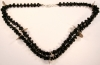 Black Beads with ½ a Real Coins Chachal
