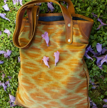 Brick Macaw Tote by Kakaw Designs