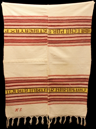 Ceremonial Napkin from Totonicapán