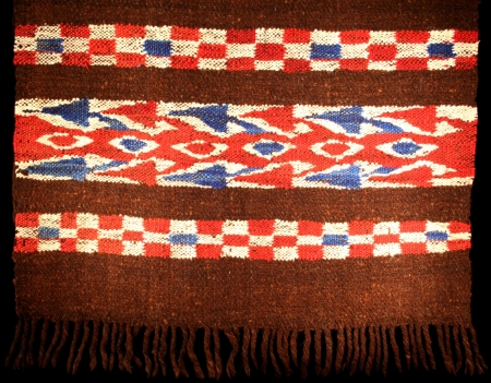 Old Cofrade's Poncho from Chichicastenango