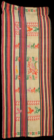 One Panel for a Ceremonial Tzute from San Antonio Aguas Calientes