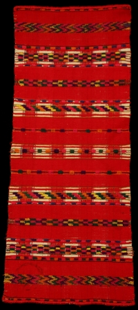 One red Man's Shirt Collar from Todos Santos