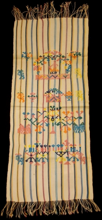 Man's Ceremonial Tzute (handkerchief) from Nahualá