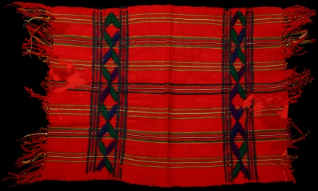 Ceremonial Servilleta (Napkin) from San Juan Cotzal