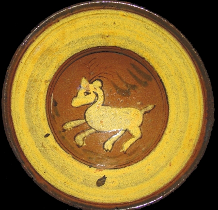 Deer Ceremonial Plate